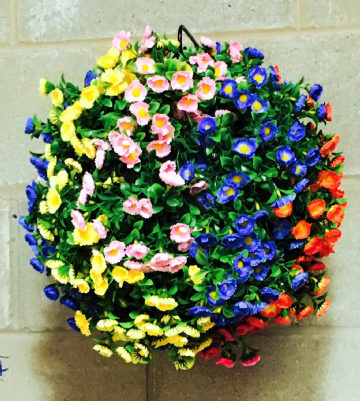 Rainbow Flower Ball XXL 50cm